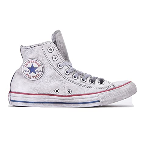 all star converse alte donna bianco